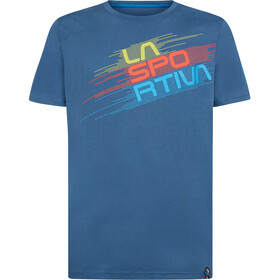 La Sportiva Stripe Evo Camiseta Hombre, azul